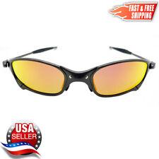Juliet X-Metal Sunglasses Polarized Fire Iridium -Metal Frames fit Oakley Lenses