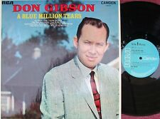 Don Gibson ORIG UK LP Blue million tears EX '69 RCA CDM1032 Country MONO