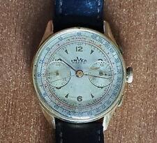Unver Watch Orologio Cronografo Oro 18K Vintage