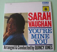 "Sarah Vaughan – ""You're Mine You"" – audiophile 200-gramme LP"