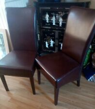 Leather chairs Barker and stonehouse Leather High Back