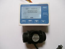 "NEW G1"" Flow Water Sensor Meter+Digital LCD Display control"
