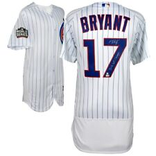 "KRIS BRYANT Signed / Inscribed ""2016 WS Champs"" Authentic White Jersey FANATICS"