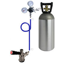 Kegco Direct Draw Kit for Kegerators and Jockey Boxes with 10 lb. CO2 Tank