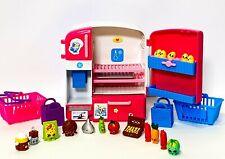 Shopkins So Cool Fridge (Lot of 12 Shopkins) Accessories & Green PopRock WOW!