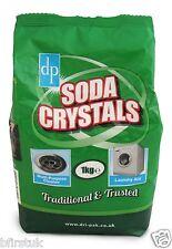 Cristales de lavado de soda 1kg Kitchen Sink desagües Ropa
