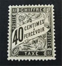 nystamps French Colonies Stamp # J20 Used $90