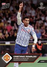 2021 TOPPS NOW UEFA CAMPIONS CARD MANCHESTER UNITED CRISTIANO RONALDO #15