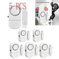 5X WIRELESS Home Window Door Burglar Security ALARM System Magnetic Sensor Alert