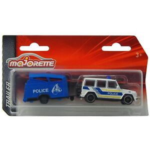Mercedes-Benz AMG G63 W463 Police with Horse Majorette Trailer 250B 1:64 2020