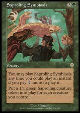 Saproling Symbiosis X (4) MTG Invasion EX/NM (RG) 4RCards