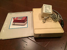 APPLE VINTAGE MODEM A9M0301 MODEM 300/1200 AND MANUAL GREAT CONDITION VERY RARE
