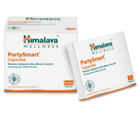 New 5x Himalaya Herbals Party Smart Capsules 25 Capsules