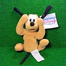 NEW Disney Store Exclusive Mini Bean Bag Pluto The Dog Plush Toy - FREE Shipping