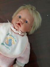 "Lee Middleton 2000 020400 Thumb Sucker Blond Baby Doll 13"""