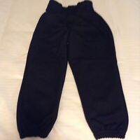 Alleson softball baseball T ball pants Youth XS XSmall black sports Girls Boys