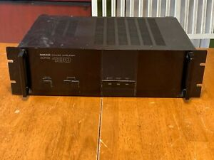 VINTAGE NIKKO ALPHA 130 HIGH END STEREO AMPLIFIER PERFECTLY WORKING