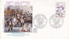 Enveloppe 1er jour FDC n°964 - 1976 : Maréchal Moncey Défense Barrière de Clichy