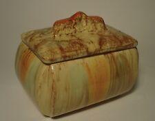 Deckeldose Dose Bonboniere Majolika 313 Art Deco Laufglasur Keksdose