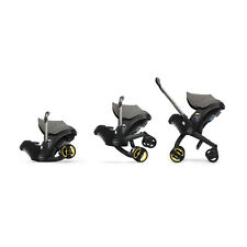 Doona Infant Isofix Safety Car Seat and Pram Stroller with Harness - Urban Grey
