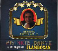CD Mega RARE salsa FIRST PRESSING Frankie Dante y su Orquesta Flamboyan EXITOS