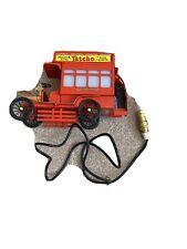 151H giocattolo in lamiera Coronet Bus Londra Double Decker BOX MUSICA Lampada Tavolo