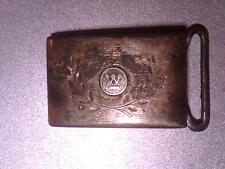 New listing Vintage Westinghouse 15yr solid sterling silver belt buckle