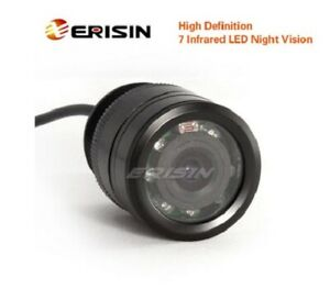 Erisin ES288 7 LED Night Vision Car Rear View Camera IR