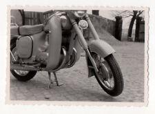 altes SW Foto Jawa 350 Oldtimer Motorrad Bild original vintage