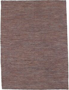 Hand Woven Dhurrie Modern Area Rug 5X7 Flat Weave Oriental Home Decor Carpet