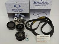 GENUINE NEW SSANGYONG ACTYON SPORTS 2.0L TURBO DIESEL ALL MODEL ENGINE BELT SET