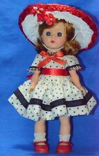 """Vintage 8"""" Cosmopolitan Ginger Doll in Tagged Dress SLW ML (Ginny Competitor)"""