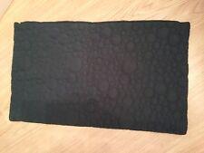 IKEA SKOGSEK Kissenbezug in schwarz; (40x65cm) Kissenhülle Couchkissen Bezug