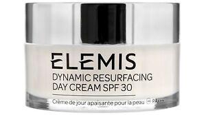 Elemis Dynamic Resurfacing Skin Smoothing Day Cream SPF30 1.6 oz 50 ml Exp 2022
