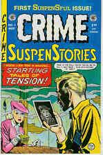 Crime suspenstories # 1 (Story Sampler, EC réimpressions) (États-Unis, 1992)