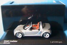 SMART ROADSTER 2003 GLANCE GREY METAL MINICHAMPS 400032131 1/43 limited edition