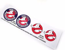 THE REAL GHOSTBUSTERS REPLACEMENT STICKERS for KENNER WATER ZAPPER + MORE