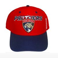 NHL Florida Panthers Cap Structured Adjustable Snapback Hat