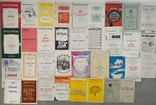 More details for 43 vintage theatre programmes from the 1950s