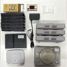 4 PlayStation 1 Konsolen & 7x PS2  + PS One + Game & Watch +mehr! Ersatzteile !