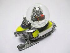 Schneekugel Schneemobil Winter Souvenir Universal zum Selbstbeschriften (1)