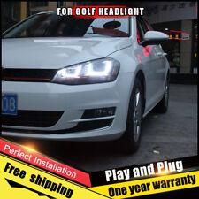 Per VW Golf7 Fari Assemblaggio Bi-Xenon Lente Doppio Fascio Kit Hid 2013-2014