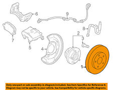 GM OEM Front Brake-Disc Rotor 23118275