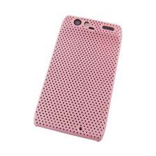 Grid Case/Schutz-Hülle zu Motorola Razr XT910 - Pink Back-Cover/Hard Case/Tasche