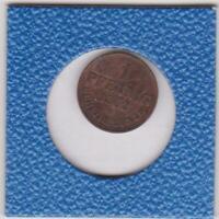 1 Pfennig Hannover 1862 B Georg V