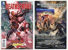 Deathstroke #4 (NM/MT 9.8) Harley Quinn 1st print 2015 DC Comics New 52
