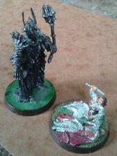 Warhammer Games Workshop LOTR Sauron Dark Lord Isildur & Elendil Metal Miniature
