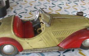 Distler Wanderer Zahnrad-Getriebe-Auto Schaltung Uhrwerk ca 1947 Top selten