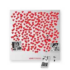 dESIGNoBJECT Organizer decorativo da muro Lovestorming bianco 50x50