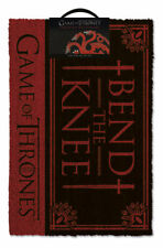 Game Of Thrones (Bend The Knee) Doormat 100% Coir Rubber Back GP85197